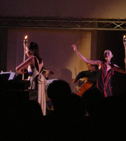 La performance di danza Corrispondenze di Cetty Schembari e Chiara Luce Fiorito