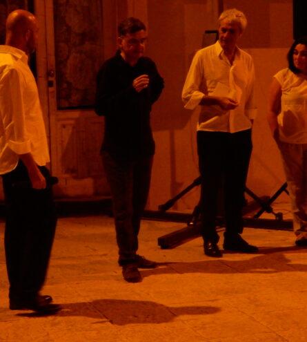 Simone Emiliani, Francesco Calogero, Claudio Botosso, Mia Arfuso
