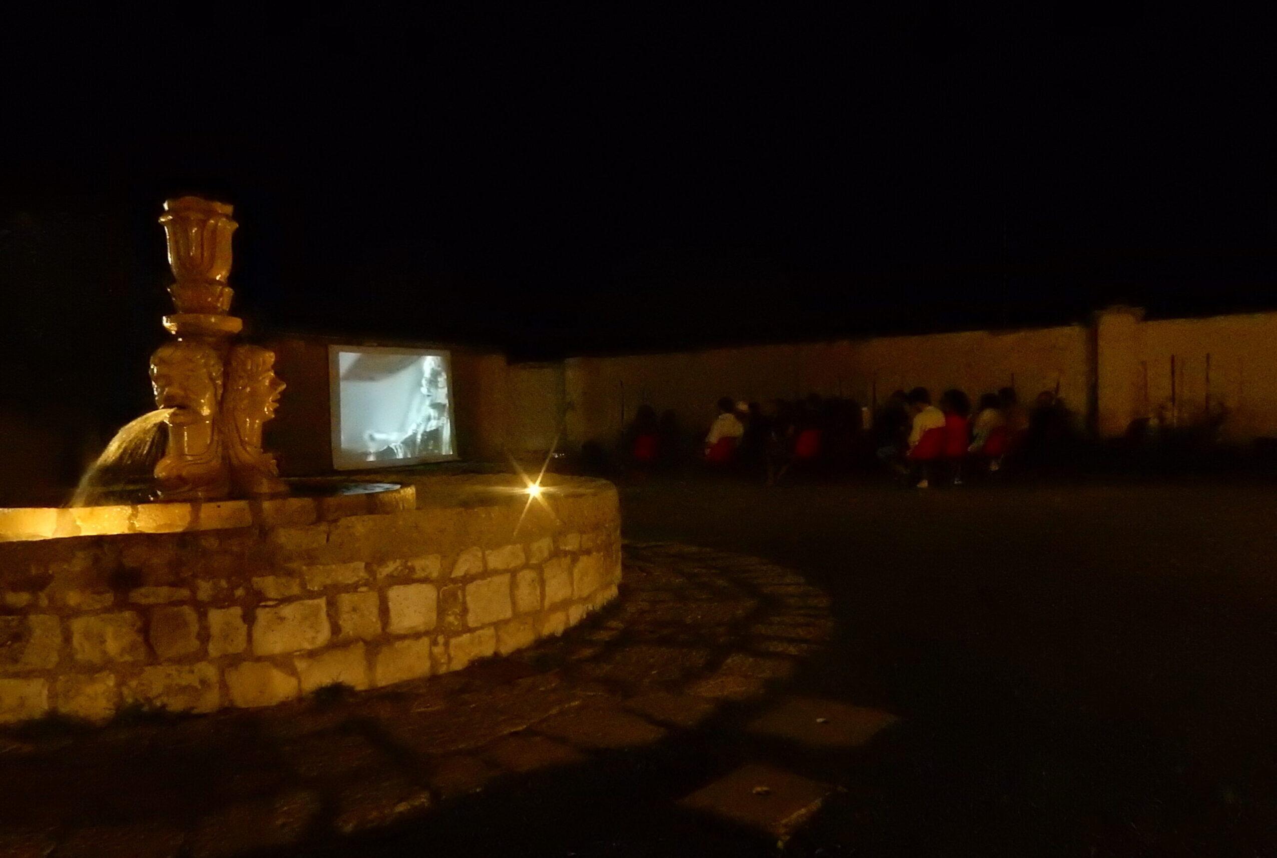 Il pubblico della Fontana della Vergine