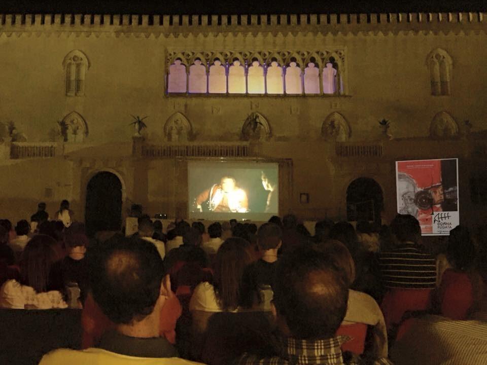 Il pubblico dell'Arena del Castello